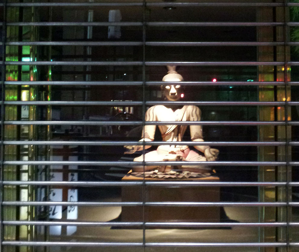 Buddha Behind Bars - Roppongi, Oct. 24, 2013